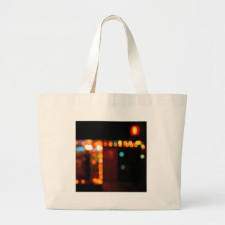Abstract Crystal Reflect Nightlife Tote Bag