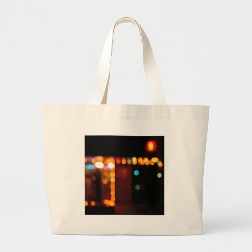 Abstract Crystal Reflect Nightlife Tote Bag