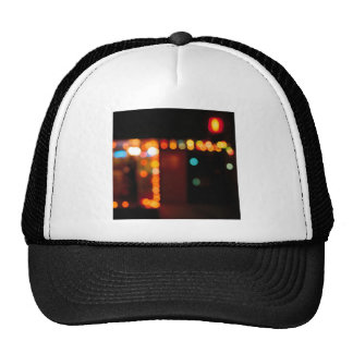 Abstract Crystal Reflect Nightlife Trucker Hat