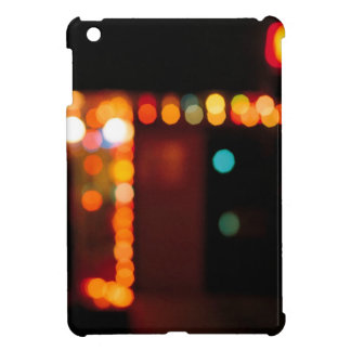 Abstract Crystal Reflect Nightlife iPad Mini Cover