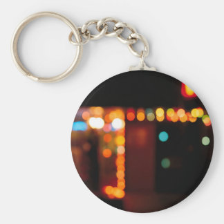 Abstract Crystal Reflect Nightlife Key Chains