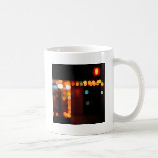 Abstract Crystal Reflect Nightlife Coffee Mug
