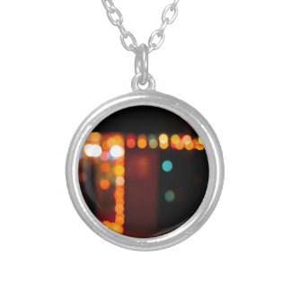 Abstract Crystal Reflect Nightlife Pendant