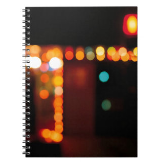 Abstract Crystal Reflect Nightlife Journal