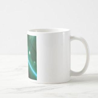 Abstract Crystal Reflect Radio Coffee Mugs
