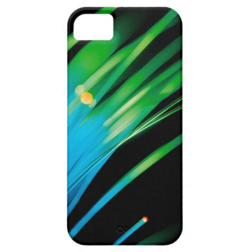Abstract Crystal Reflect Reach Cover For iPhone 5/5S