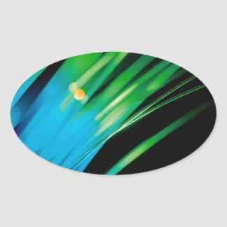 Abstract Crystal Reflect Reach Stickers