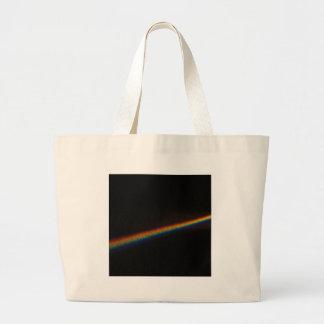 Abstract Crystal Reflect Road Canvas Bag