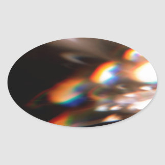 Abstract Crystal Reflect Shine Sticker