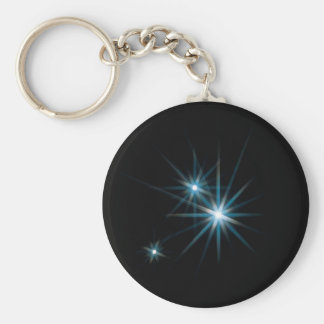 Abstract Crystal Reflect Sparkle Keychain