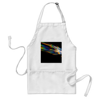 Abstract Crystal Reflect Spike Aprons