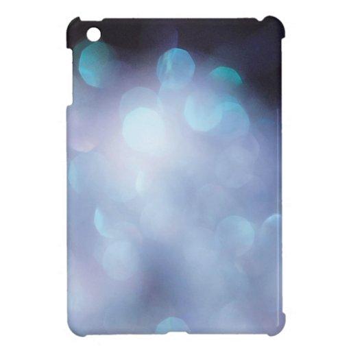 Abstract Crystal Reflect Sugar Flakes iPad Mini Covers