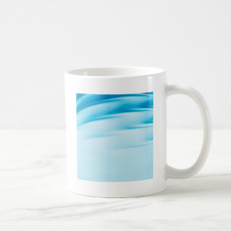 Abstract Crystal Reflect Water Horizon Basic White Mug
