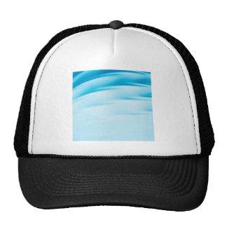 Abstract Crystal Reflect Water Horizon Mesh Hat