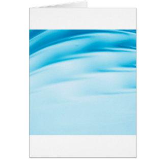 Abstract Crystal Reflect Water Horizon Greeting Card