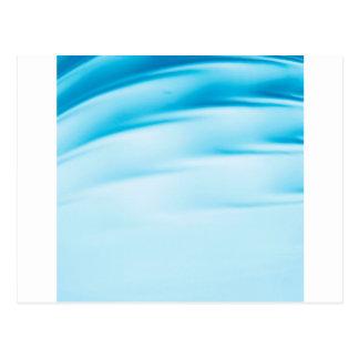 Abstract Crystal Reflect Water Horizon Postcard
