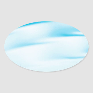 Abstract Crystal Reflect Water Horizon Sticker