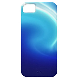 Abstract Crystals Blue Mist iPhone 5 Case