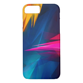Abstract Crystals iPhone 7 Case