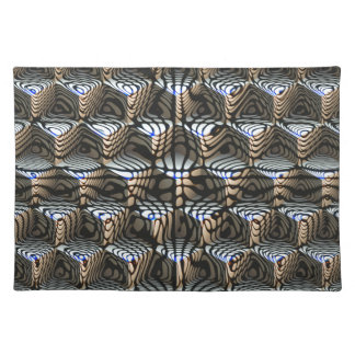 Abstract Cubes Placemat