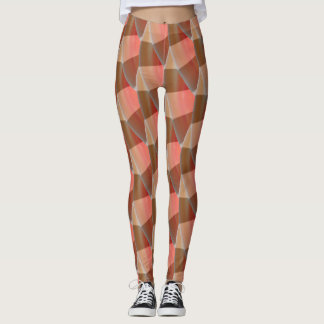 Abstract Curly Wave Pattern #6 Leggings