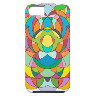 Abstract Curves - flowers Iphone 5 case
