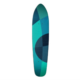 abstract custom skate board