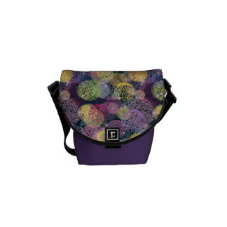 Abstract Cute Polka Dot Circle Messenger Bags
