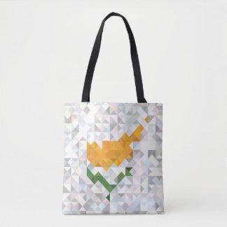 Abstract Cyprus Flag, Cypriot Colors Bag