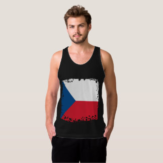 Abstract Czech Republic Flag, Czech Colors Singlet