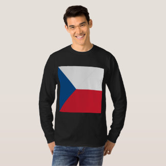 Abstract Czech Republic Flag, Czech Colors T-Shirt