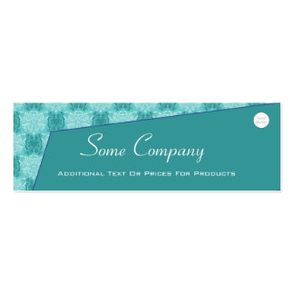 Abstract Damask (Ocean View) Business Card Template