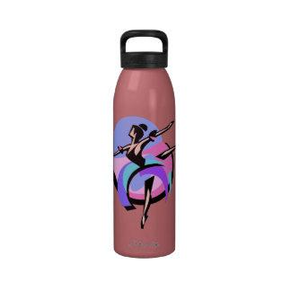 Abstract Dancer Water Bottle