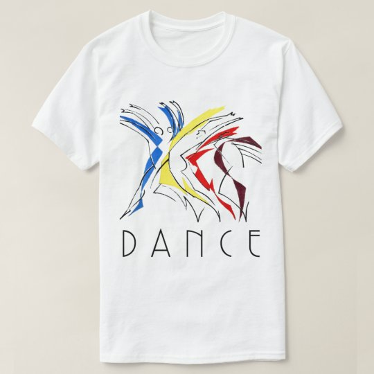 Abstract Dancers Dancing - Dance Lover Artwork T-Shirt