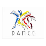 Abstract Dancers - Gotta Dance Post Cards