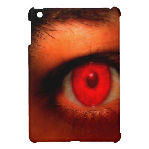 Abstract Dark Vampire Eye Cover For The iPad Mini