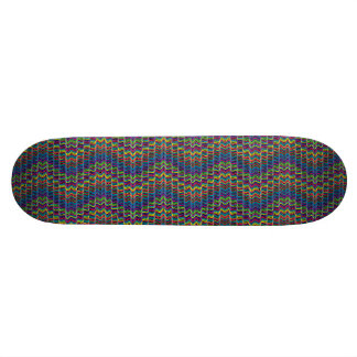 Abstract Decorative Ornamental Geometric Lin Skateboards