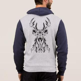 Abstract Deer Hoodie
