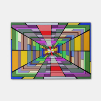 Abstract Depth Post-it® Notes