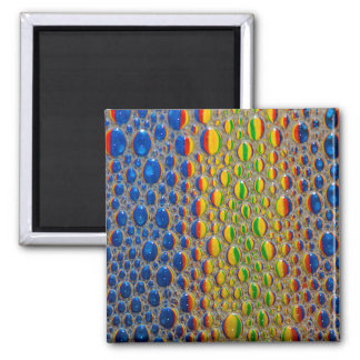 Abstract Design Animal Skin Effect Magnet