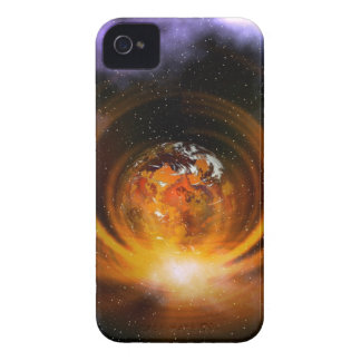Abstract design Blackberry Curve case iPhone 4 Cases