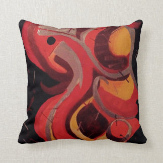 Abstract Design by DS Watkins Cushion