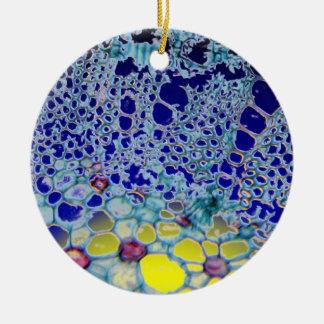 abstract design ceramic ornament