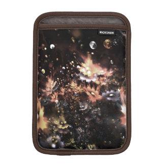 abstract design fractal flowers iPad mini sleeve