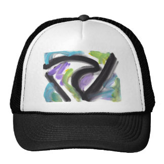 Abstract Design from Original Painting Cap