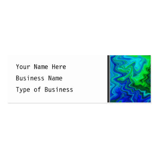 Abstract Design in Blue and Green. Business Card Templates