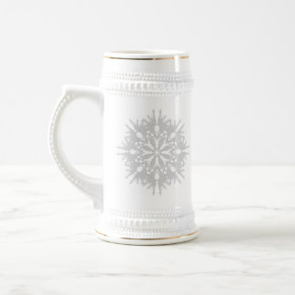 Abstract Design in Light Gray Mugs