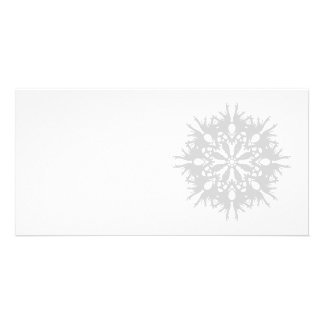 Abstract Design in Light Gray Photo Greeting Card