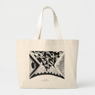 Abstract Design Jumbo Tote Bag