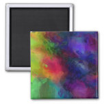 Abstract Design, Many Colours Fridge Magnets